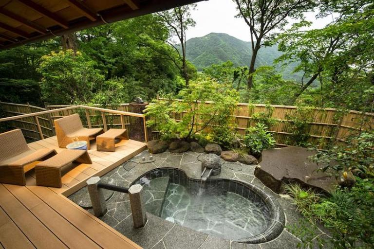 Best luxury Ryokans in Japan - Gora Kadan