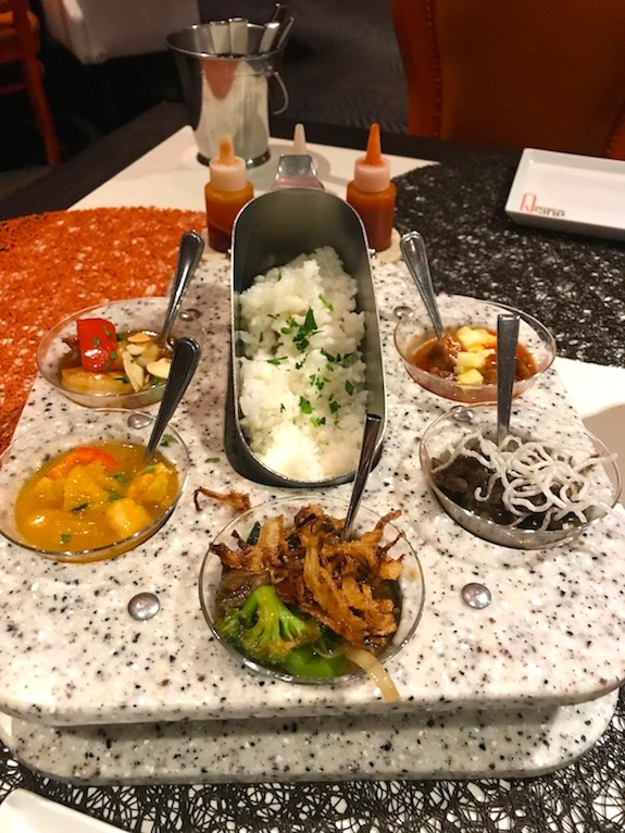 Chinese food at Qsine on Celebrity Millennium