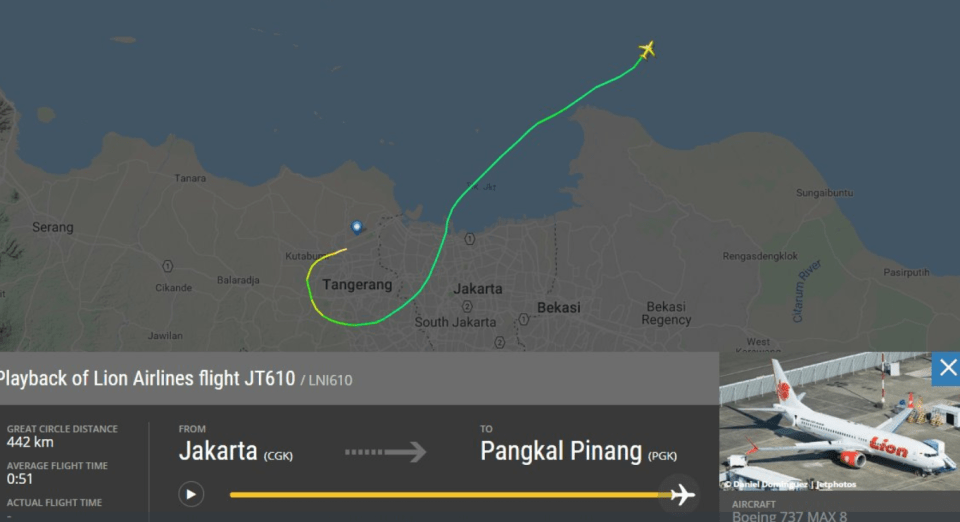Indonesia PLane Crash Lion Air