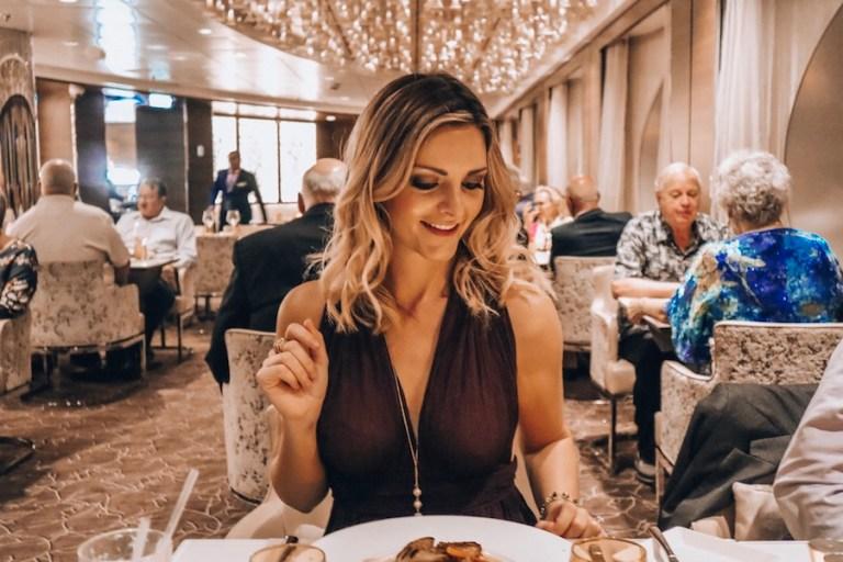Luminee restaurant on Celebrity Millennium