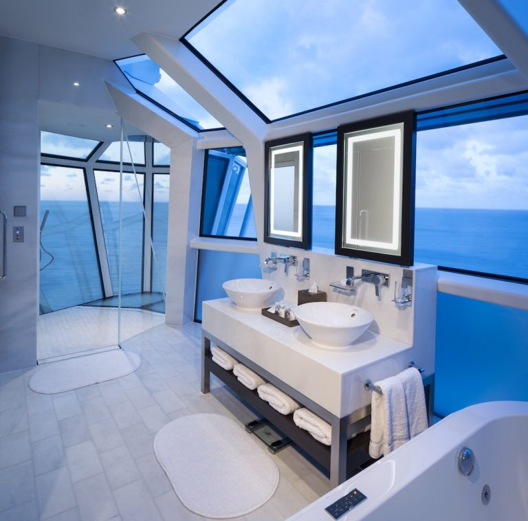 Celebrity Reflection Suite Bathroom Cruise Millennials
