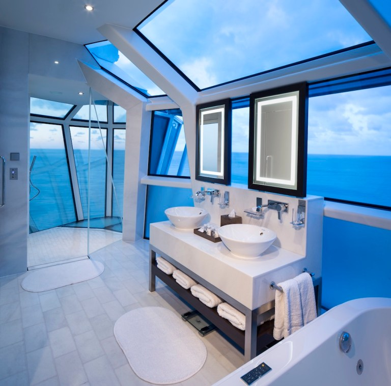Celebrity Reflection Suite Bathroom Cruise Millennials