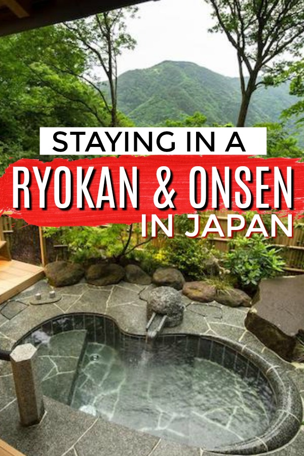 Staying in a Ryokan and Onsen in Japan