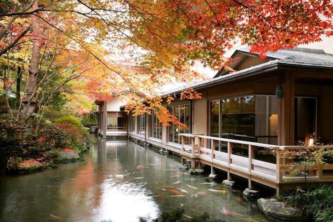 Suimeikan hotel in Gero Japan