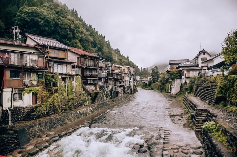 Gujo Japan - The Water City