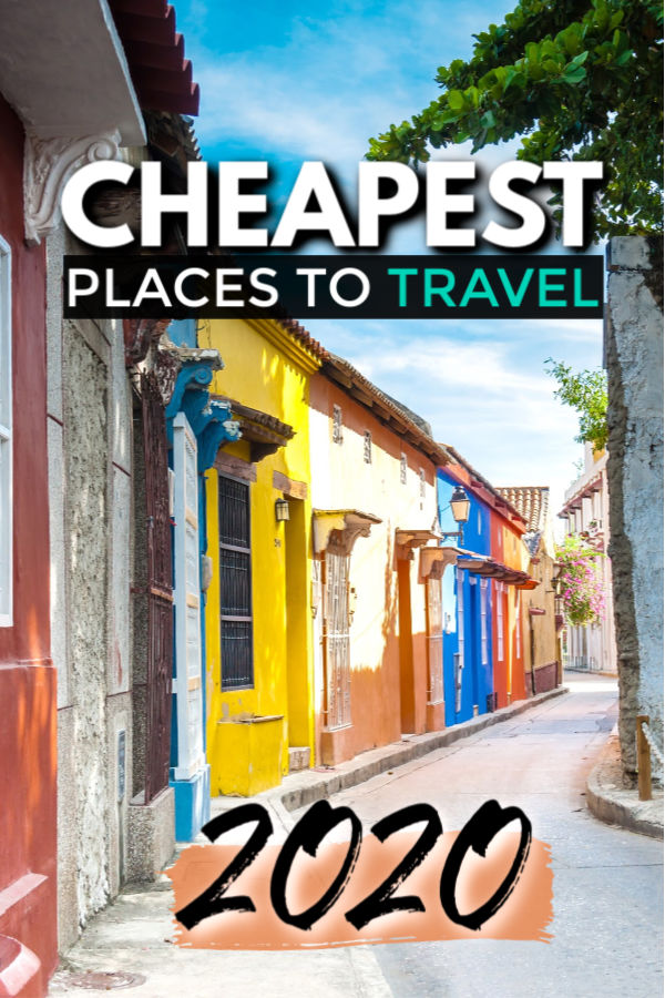 2020 - cheapest places to travel list