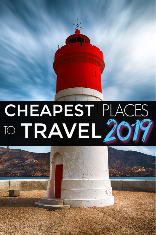 cheapest destinations to travel to in 2019