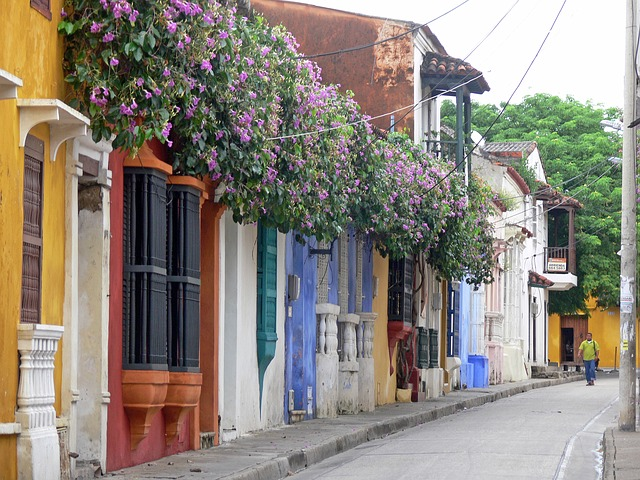 Streets of cartagena colombia - cheap destinations