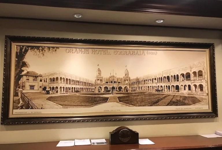 Hotel Oranje History Java