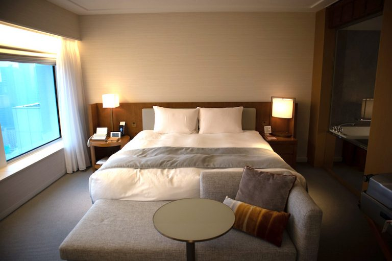 Keio Tokyo hotel - King club access room