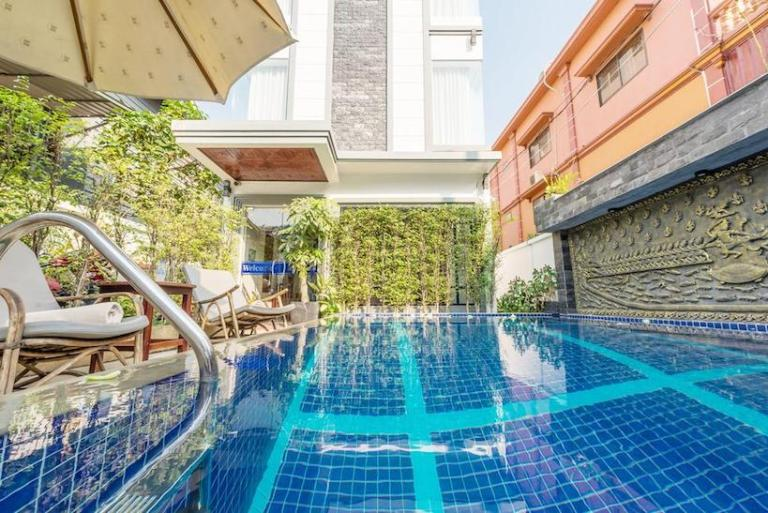 Visoth Villa - Siem reap cheap hotels