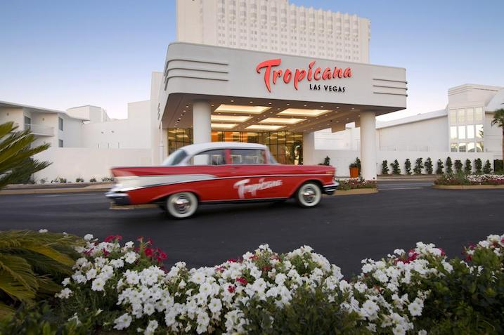 The Tropicana Hotel in las vegas- Cheap vacation packages from canada