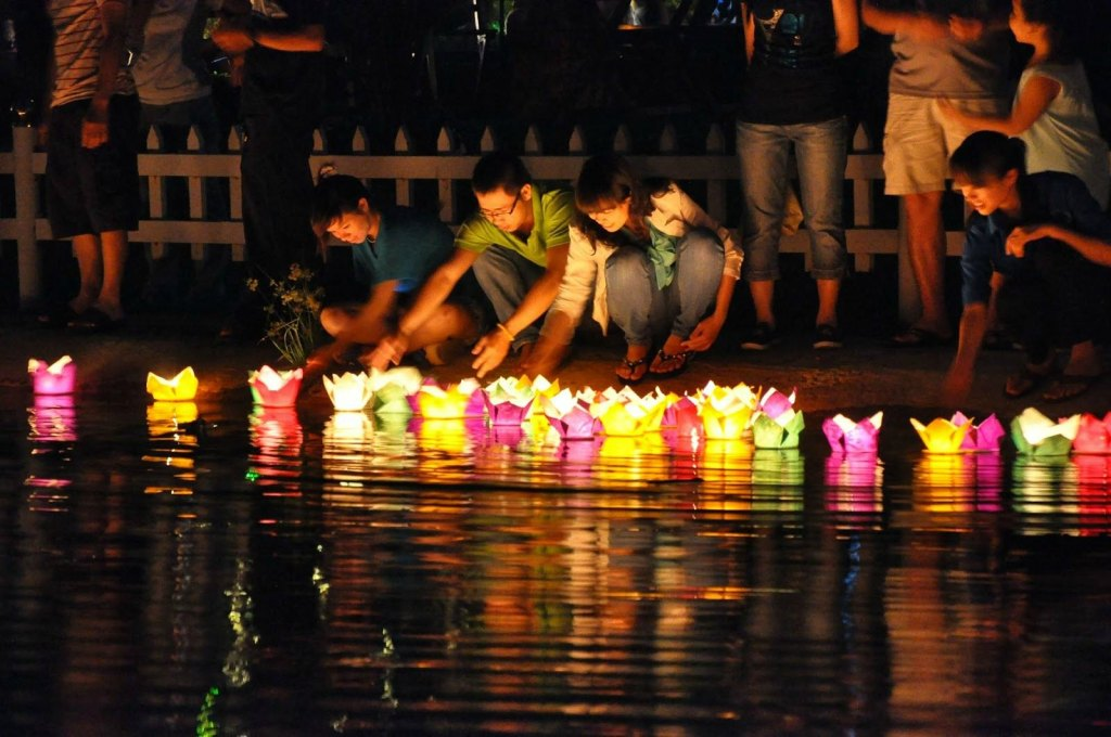 Float a Lantern in River Things To Do In Hoi An