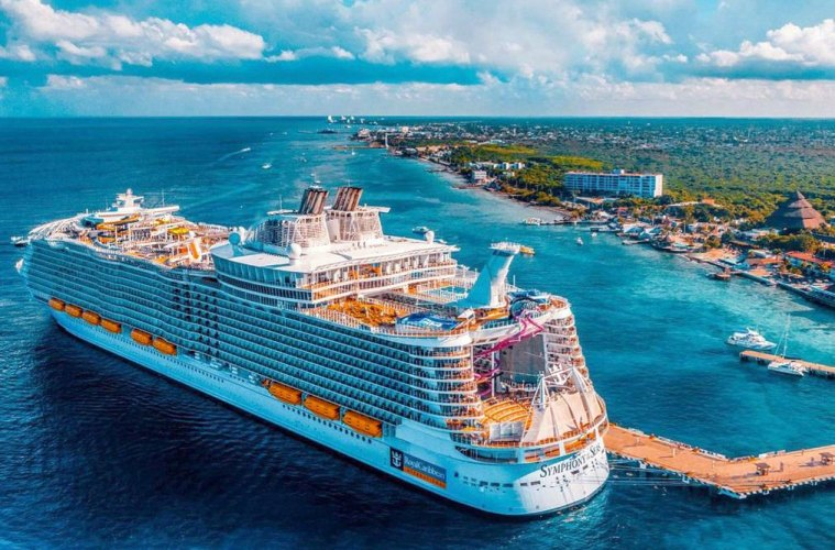 Man Banned For Life From Royal Caribbean For Cruise Ship Stunt