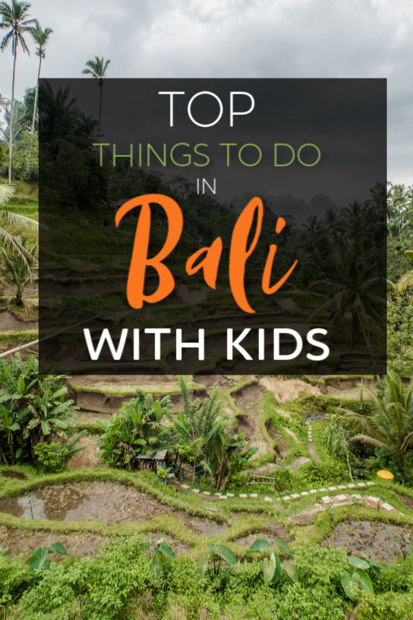 top things to do in bali with kids