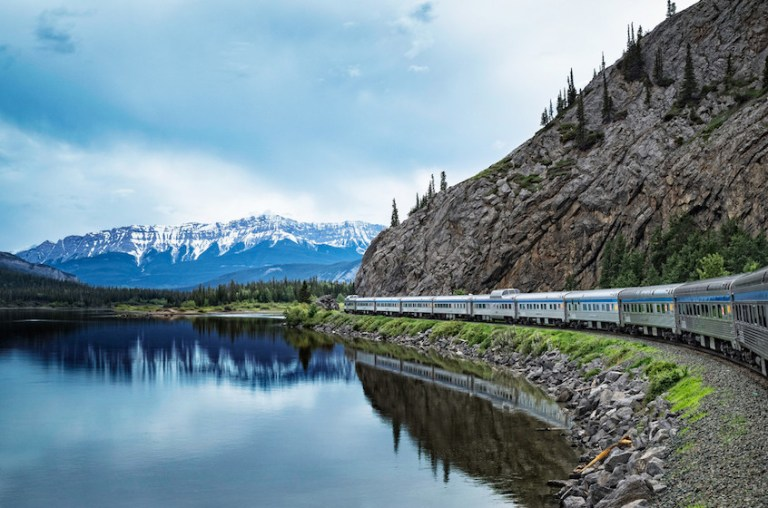 take the via rail train across canada for only $400