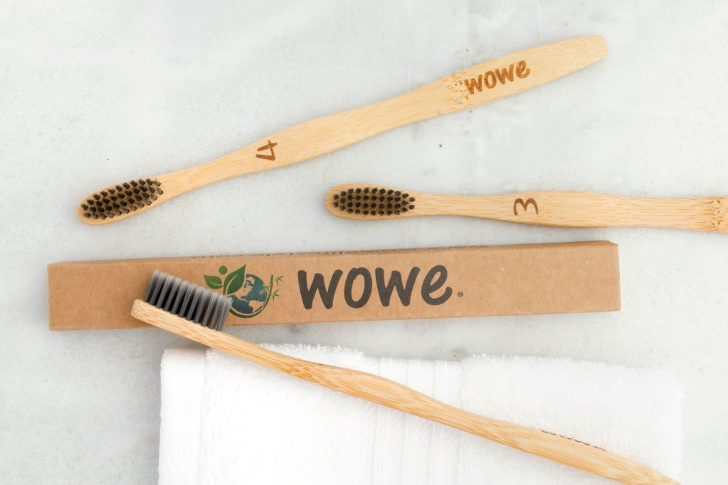 Bamboo Toothbrush Eco-friendly travel kit