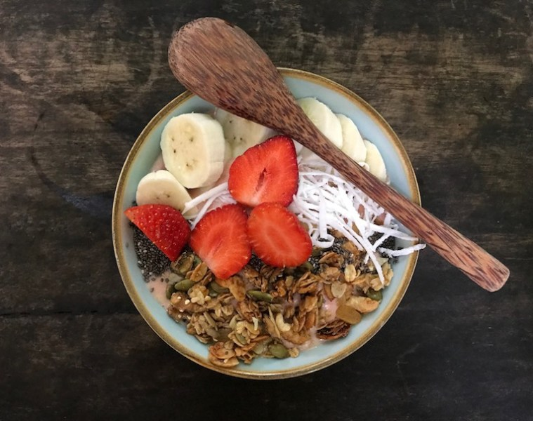 Dear Sweetie smoothie bowl at Rosie's Cafe Hoi An