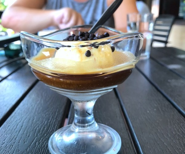 Affogato at Mia Coffee in Hoi An