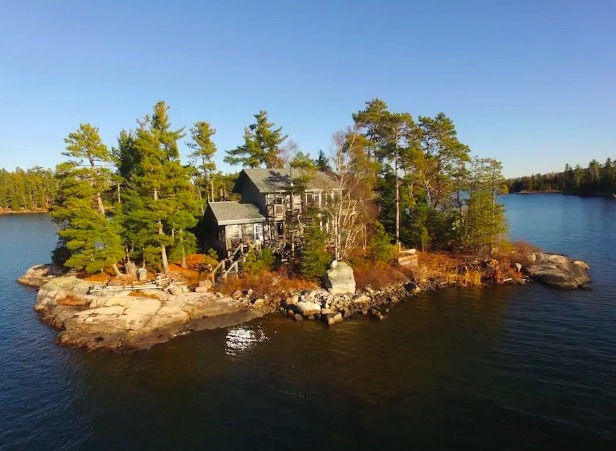 rent your own private island canada