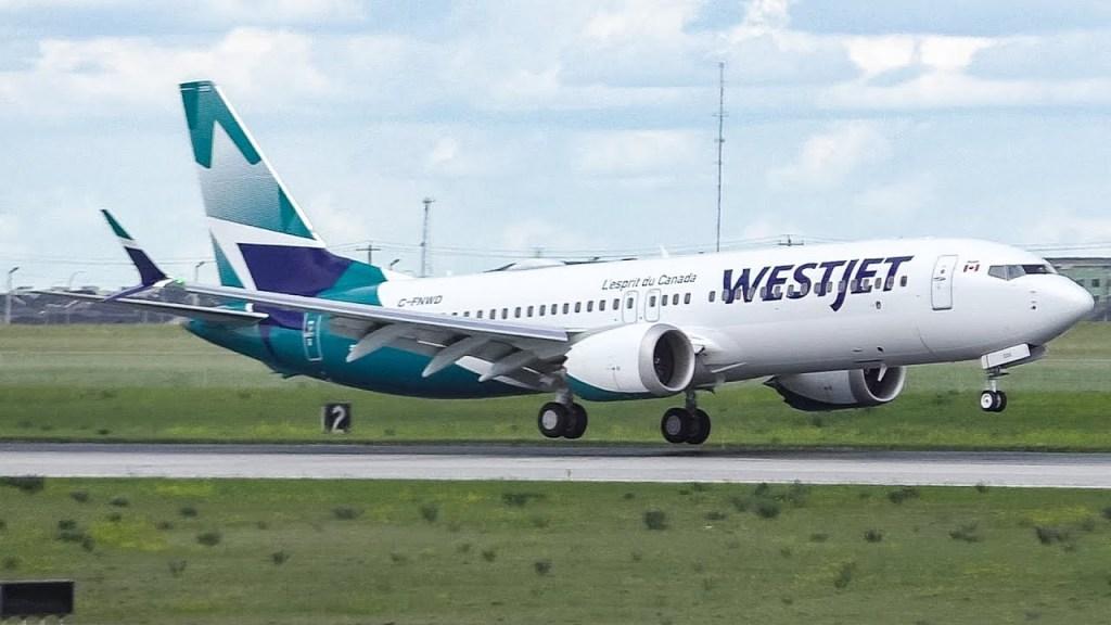 Westjet 787 - max 8
