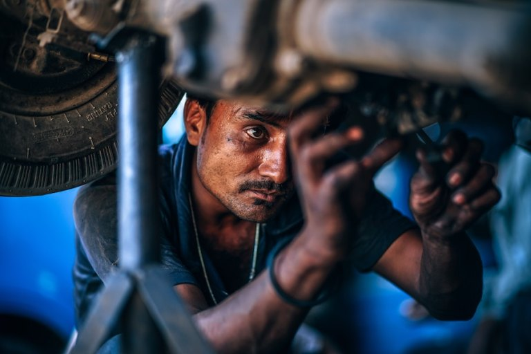 cheap labor in india