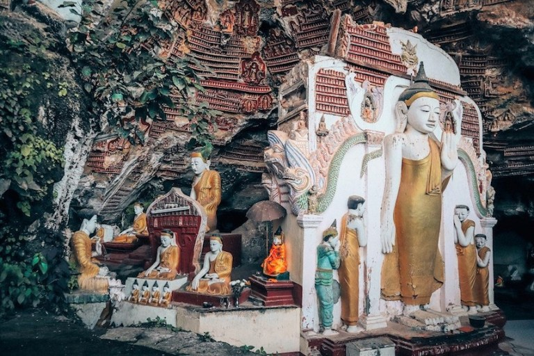 what to do in myanmar - see the caves of Hpa An