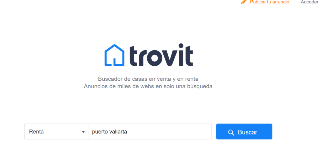 Trovit - Puerto Vallarta Rental Comparison