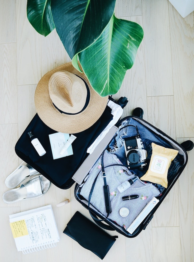 travel packing tips- take a photo of your packed suitcase