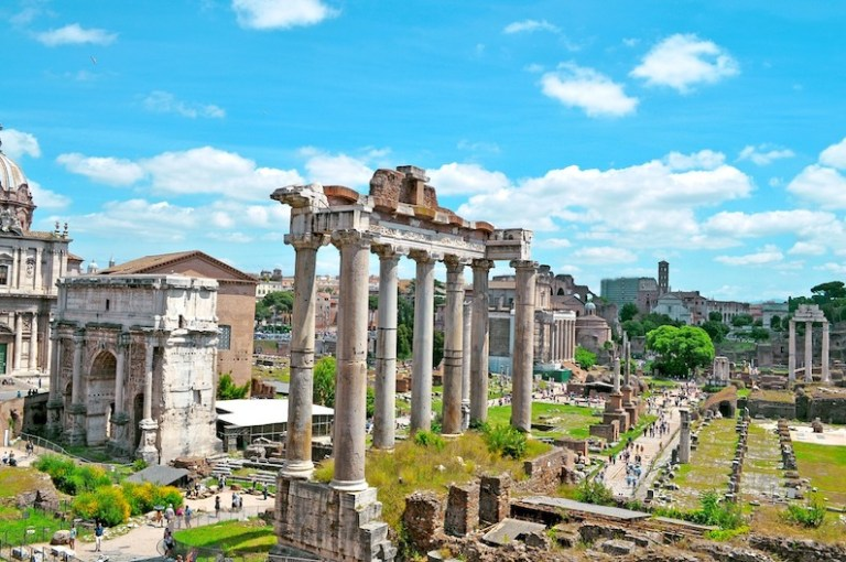 The Roman Forum- free things to do in Rome
