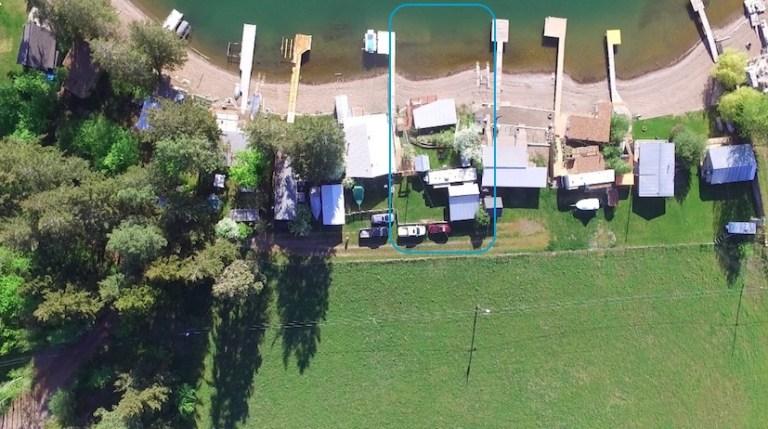 Our lake lot and RV on Okanagan Lake Kelowna