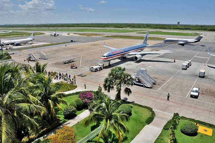 Dominican republic airport