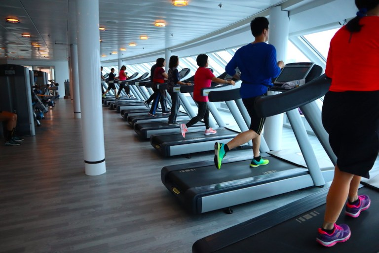 Gym on the Millennium in 2019