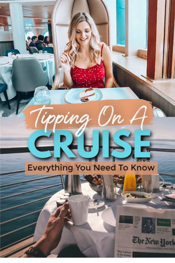 Tipping on a cruise - everything you need to know