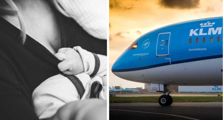 KLM Tells Breastfeeding Woman To cover Up