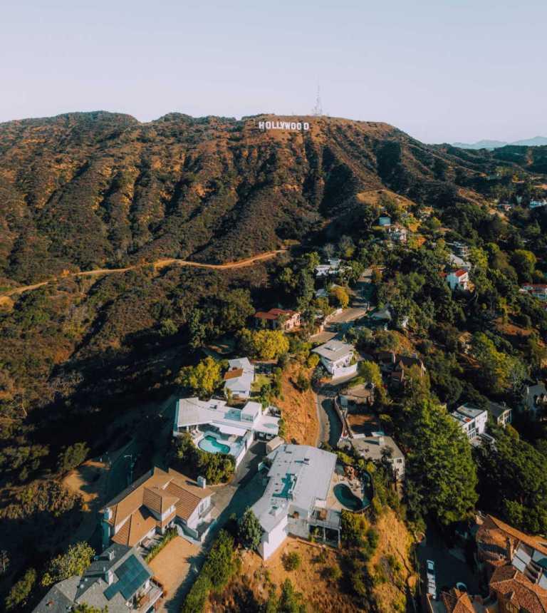Los Angeles USA Warmest place