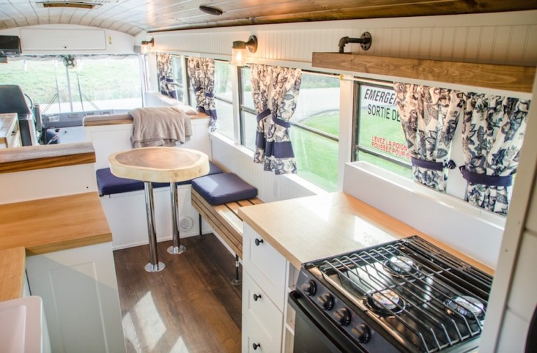 bus to RV conversion