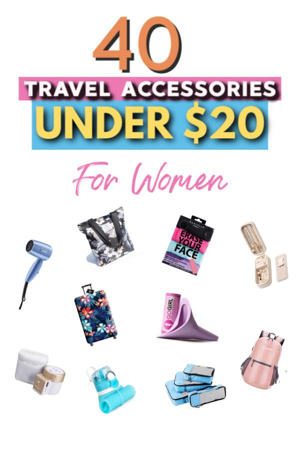 top 40 travel accessories under $20 for women