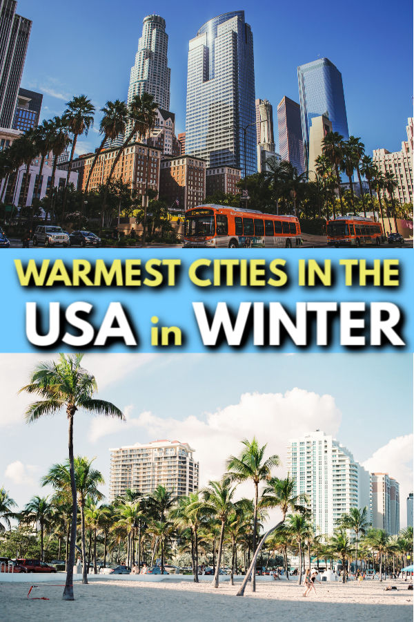 warmest cities in the usa
