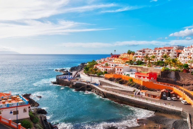 Tenerife in the Canary Islands - the WARMEST place in Europe in winter