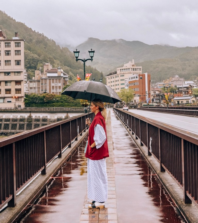Wear the yukata robes in Japanese hotels - Japan travel tips