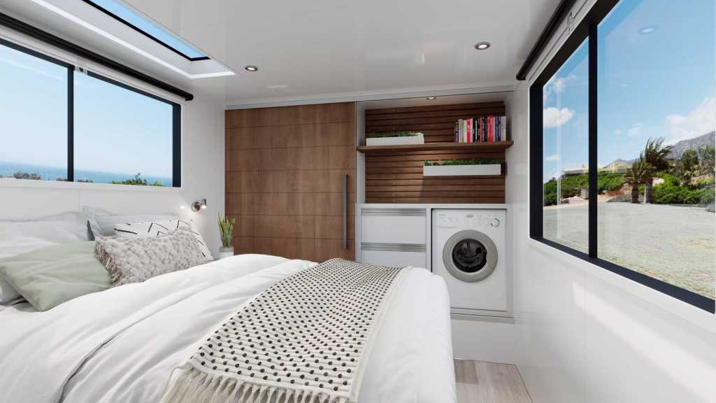 trailer bedroom