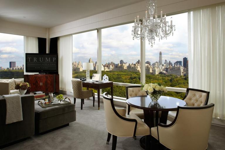 Best Hotel In The World Trump International New York