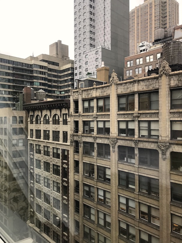 View from the room - Best Western Herald Square in Manhattan