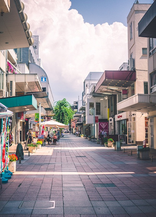 streets of Kanazawa, Ishikawa