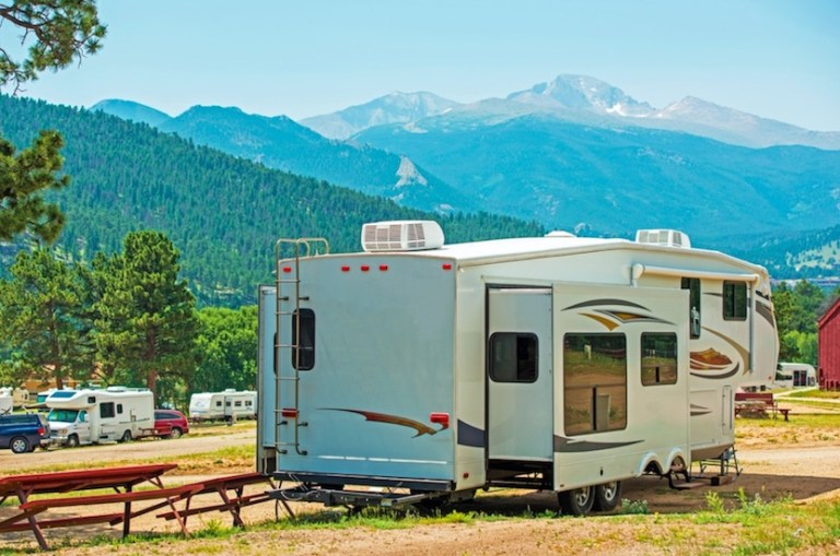 Full-time or year-round RV living may be against the law in some places