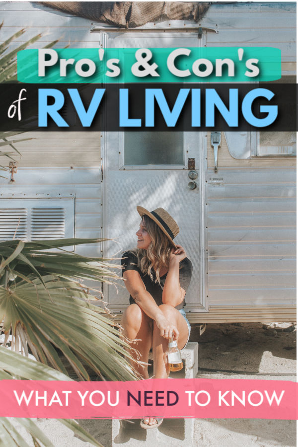 Pro's and Con's of RV living - what you need to know