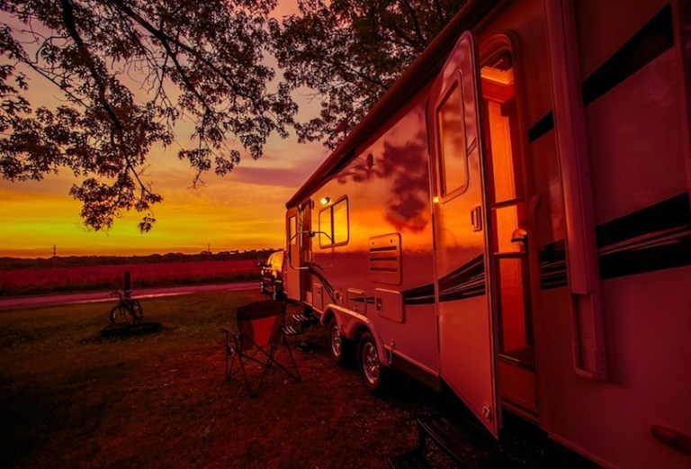 Con's of living in an RV - it shakes a lot