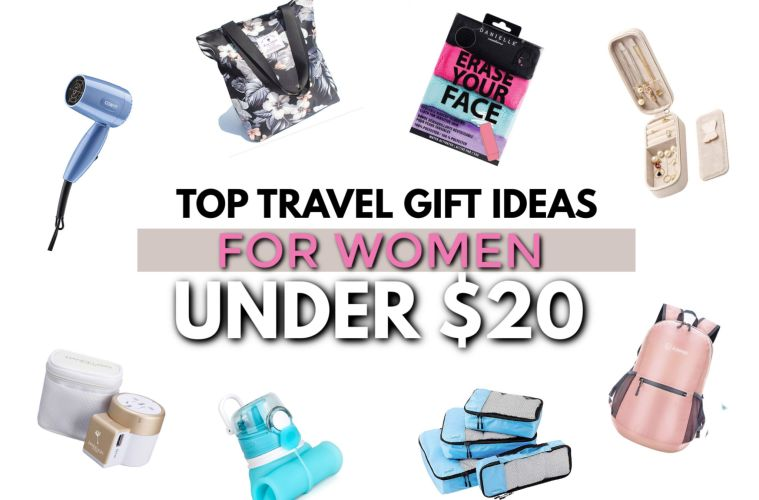 Top travel gift ideas for women under $20