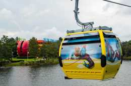Disney World Ride stuck for hours cable cars